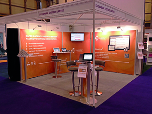 Shell Scheme Exhibition Stands : Exhibition stands for shell scheme stands including pop up